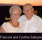 Francois and Cynthia Salluyts
